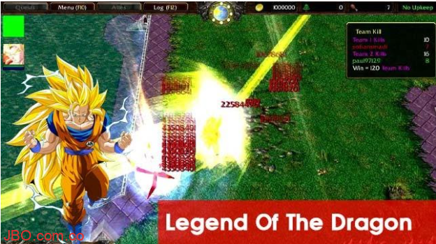 Legend Of The Dragon trong map warcraft 3